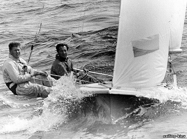 В. Манкин и В. Дырдыра - чемпионы Олимпийских игр, 1972 год, фото Л. Дюденко